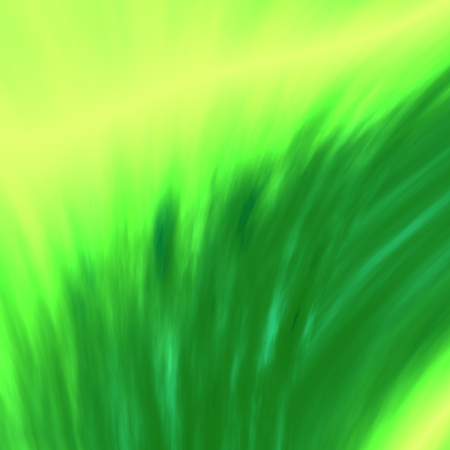 Abstract Artistic Blurry Green Brush on Canvas Background