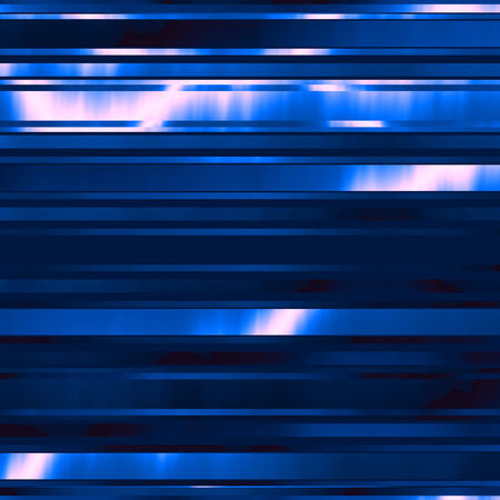 Abstract Blue Modern Technology Background with Shiny Stripes