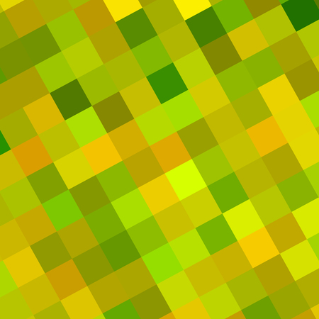 Abstract Green Palette Squares Background Texture or Pattern