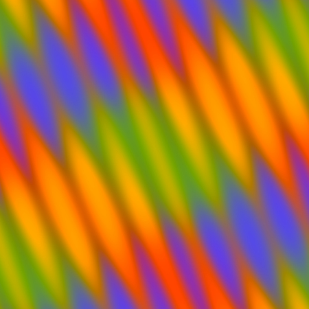 Abstract Colorful Wavy Reflections through Glass Texture