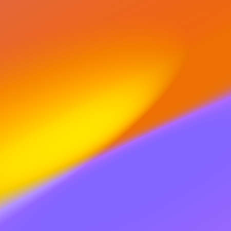 Abstract Simple Blurry Yellow Purple Illuminated Background Stock Photo