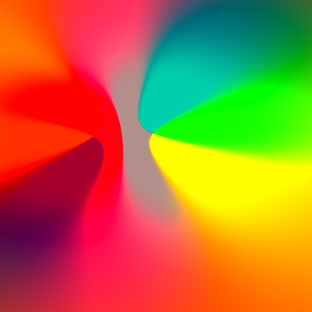 Abstract Colorful Intense Vibrant Rainbow Blurry Background Stock Photo