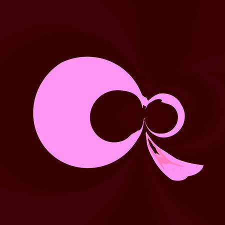 horrifying: isolated abstract artistic skull symbol shape icon