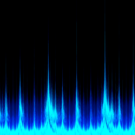 Abstract Visualization - Digital Sound Signal - Software Analyzer Equalizer Stock Photo - 26891012