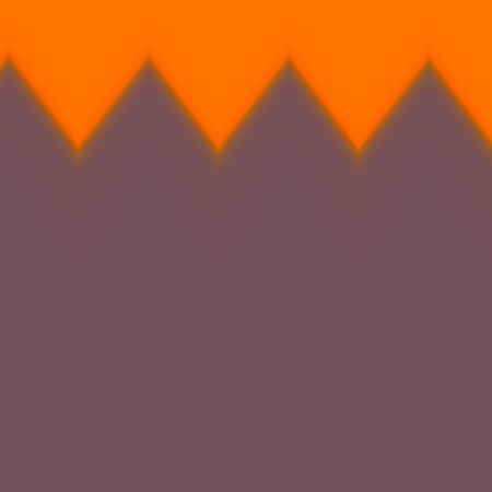 Simple Abstract Funny Haloween Presentation Background - Pumpkin Orange Teeth - Annoncement Table