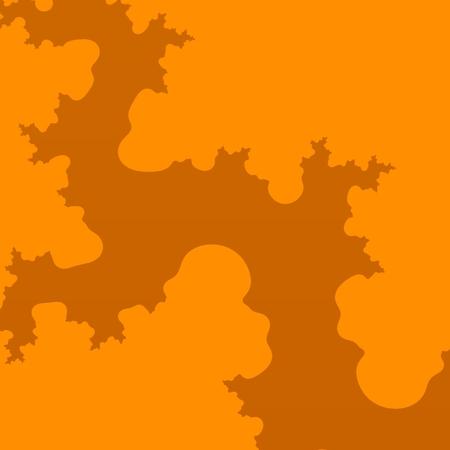 Fractal Arm - Orange Shape - Cloud Illusion - Tree Root - Crack photo