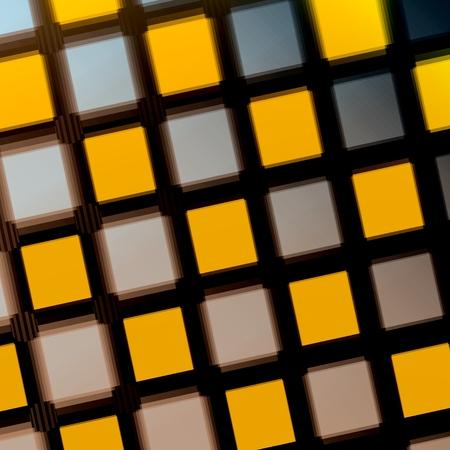 Jittered Squares - Yellow Purple Matrix - Pattern - Background photo
