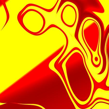 Abstract Psychedelic Scream - Pareidolia - Alien - Modern Art
