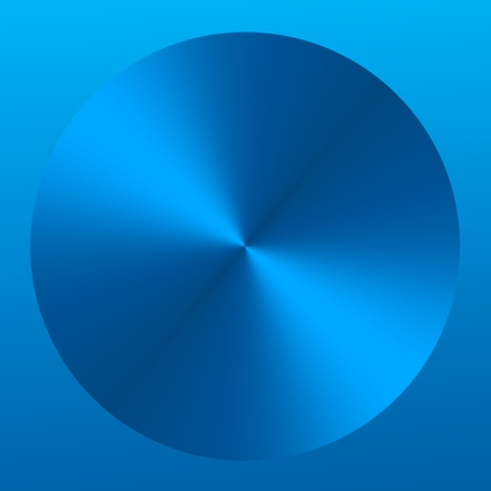 Blue Metallic Abstract Background