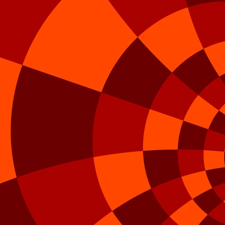 Red Orange Abstract Mosaic Background Pattern