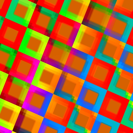 squares background: Abstract Colorful Squares Background