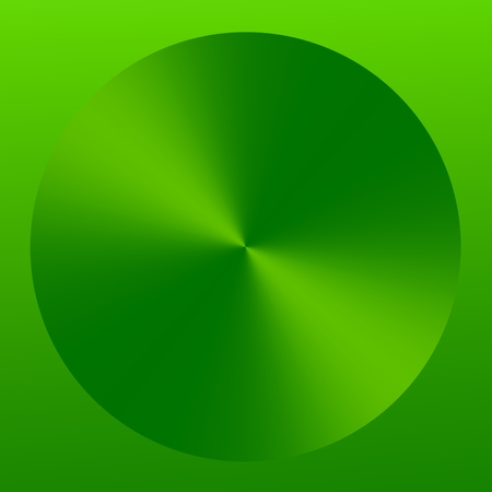 Abstract Green Isolated Elegant Technology Button