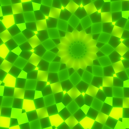 Green Abstract Circular Geometry Background Pattern  Stock Photo