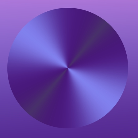 Abstract Purple Isolated Circle
