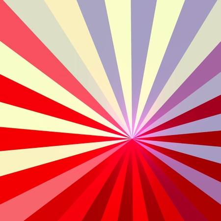 White Blue Red Abstract Rays Background