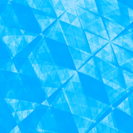 unfolded: Blue Abstract Origami Paper Texture  Stock Photo