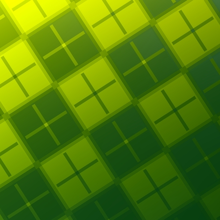 Abstract Green Plus Background - Creative Surface Pattern Design - Flat Digital Art Texture - Positive Plus Signs - Business Presentation Backdrop - Soft Light On Diagonal Spring Green Picture Stock Photo