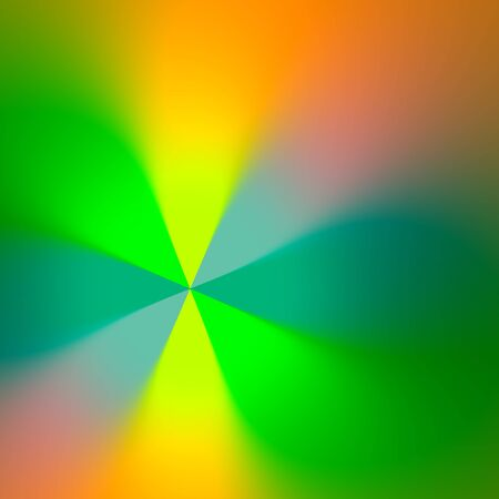 Abstract Blurry Green Rays Background - Fancy Blurred Web Image - Soft Light Effect - Speed Art Illustration - Digital Smooth Fantasy Computer Wallapepr - Colored Glowing Presentation Background illustration