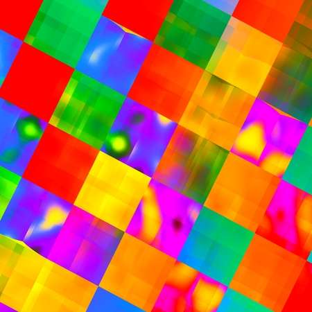 artistic designed: Abstract Colorful Red Yellow Smudged Paint Background - Orange Green Grunge Art Illustration - Artistic Vibrant Rainbow Colors - Multicolored Mosaic - Grungy Floor Pattern - Watercolor Splashes -