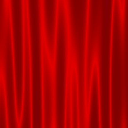 monotony: Theatre Stage with Red Velvet Curtains - Artistic Abstract Wave Effect - Background for Design Artworks - Theater Drapes - Surface Close Up - Cinema Auditorium Screen - Satin Fabric - Theatrical Illustration - Web Graphic - Spacious Cover - Shadowed