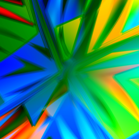 Bang Background - Abstract Colorful Energetic Artworks - Creative Art - Blue Green Aqua Yellow Colors - Motion Blurred Illustration - Pow Boom Zap Concept Image - Decorative Blast Effect - Artistic Colored Backdrop - Dynamic Lines Graphic
