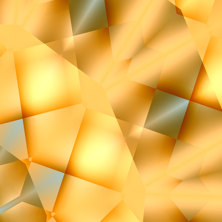 Abstract Soft Blurry Cream Colored Background - Creative Light Effect - Ornate Digital Art Design - Orange Yellow Illustration Graphic - Bright Fancy Decorative Fantasy Image - Artistic Geometric Abstraction - Squares or Rectangles