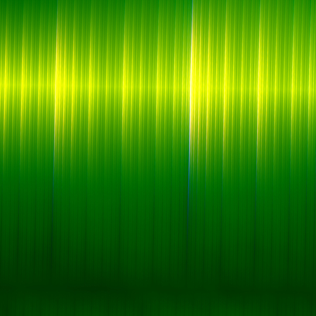 raspy: Green Abstract Background - Business Presentation Backdrop - Card Design for Stylish Text - Modern Style Illustration - Smooth Metallic Texture - Flyer Brochure or Cover Design - Colored Vertical Stripes - With Light Effect - Illuminated Surface Stock Photo