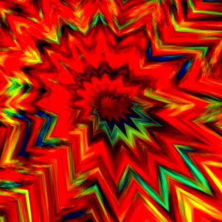 Antecedentes de Bang - Resumen de colores Arte Energético Creativo - Explosión de bomba - Imagen Digital Fractal - Color Paint Splash - Boom Pow o Wham Concepto - Erupción Burst coloreado - Dinamita Explosivo - Rojo Naranja Amarillo Azul Ilustración Diseño Gráfico Foto de archivo - 36902348