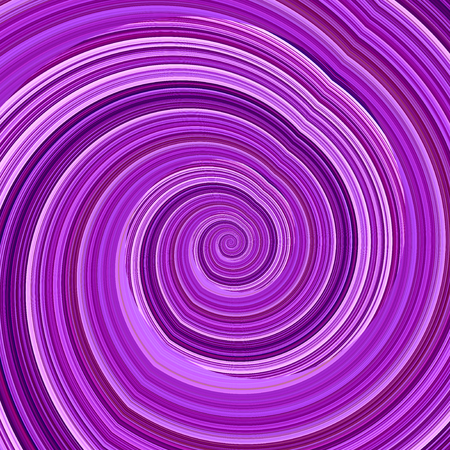 Abstract Twisted Purple Fractal Background - Mental Disorder Concept - Hypnosis Spiral - Artificial Computer Generated Image - Creative Psychedelic Art - Unique Crazy Effect - Funky Infinite Loop - Curvy Digital Monochrome Graphic