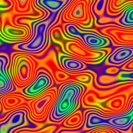 irregular shapes: Resumen Chaotic Patr�n con formas irregulares de colores - Rojo Verde Azul Antecedentes - Psychedelic Art Blobs - Imagen generada digitalmente - creativo �nico ejemplo de la fantas�a - Digital Tel�n de fondo l�quidos - Composici�n fantasmag�rica