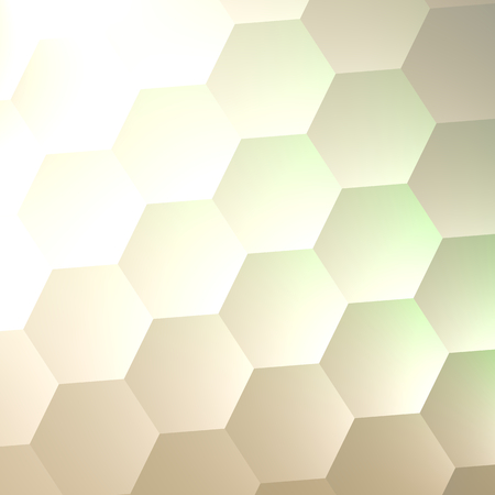 White Hexagon Wall Background - Simple Blank Copy Space - Lots of Hexagons - Abstract Quilted Soft Hex Shapes - Poster Banner or Flyer Backdrop Design - Business Presentation - Elegant Web Graphic - Electric Light Effect - Bumpy Texture