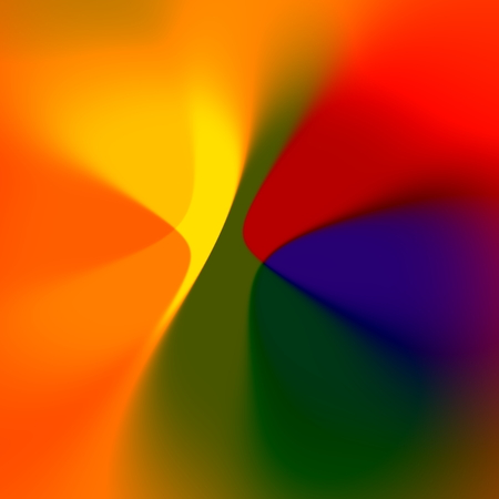 Soft Colored Abstract . Digital Fantasy Art. Beautiful Blurred Effect. photo
