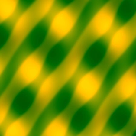 Abstract Wave Pattern. Yellow Green . Stock Photo