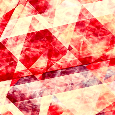 multi layered: Abstract red lines background. Geometric element design. Beautiful vibrant wallpaper. Paint grunge on paper. Backgrounds with decorative lines. Bright creative graphic layout for webdesign or webpage. Artistic abstraction on a rough canvas. Effect.
