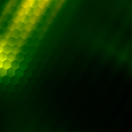 Green texture backdrop. Art illustration. Graphic color background. Design element. Colored nano structure. Geometric modern smartphone. Luxurious picture for computer. Light ray image. Beautiful odd pattern. Business presentation concept. Blank screen. Foto de archivo