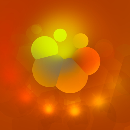 artistry: Odd 3d illustration. Internet icon. Neon light background. Uniquee electric effect. Image design element. Abstract elements composition. With color gradient. Smooth and brightly illuminated. Futuristic picture style. Beautiful flower. Disco logo artistry. Stock Photo