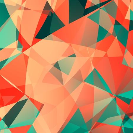 Pink polygonal technology backdrop. Design for web page business or flyer. Art illustration. Pattern for fashion designer. Color pattern. Computer screen wallpaper. Glass crystal composition. Background for advertising or poster. Decoration backdrop. illustration