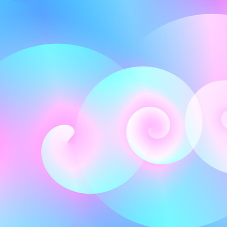 Swirls background illustration for business. Bright blank image. Computer generated shapes. Ornate decoration picture. Abstract smoke wave. Abstract windy sky. For flyer magazine or brochure. Web banner element. Flowing waves. Flat style elements.