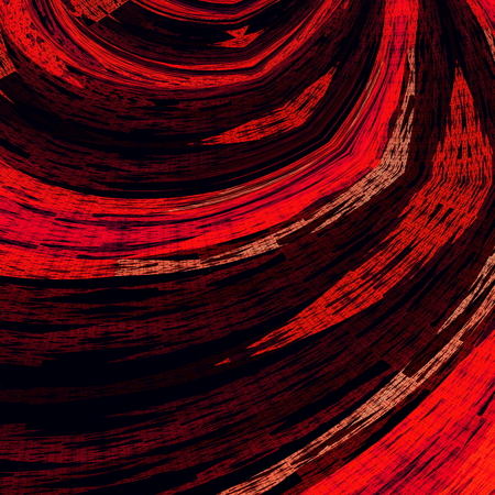 twists: Psychedelic swirl effect. Art illustration background. Abstract design. Detail color image. Creative unique backdrop. Wallpaper decoration. Modern picture composition. Purple poster or print. Red colour designer graphic. Artistic fantasy abstraction. Stock Photo