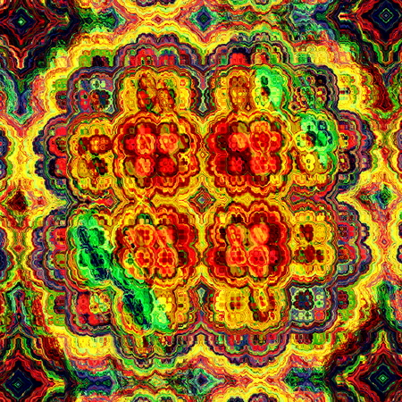 vibrant idea yellow picture frames. Mad colorful fractal  Odd shaped craft Vibrant color tone Virtual dream idea Colorful Map Abstraction Full Frame Picture Visual Ornate Decor