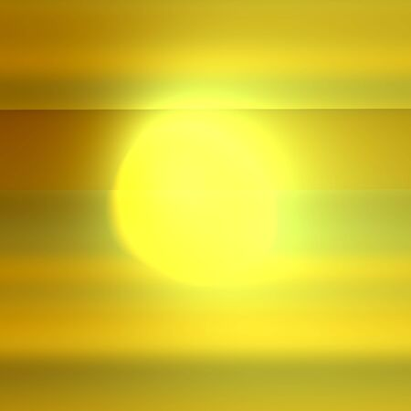 generative: Abstract spotlight or searchlight. Lens flare effect. Bright yellow light. Empty picture frame. Odd glare in front of yellow wall. Solar energy concept. Weird generative art. Modern design element. Virtual graphic style. Artificial light beam. Render.