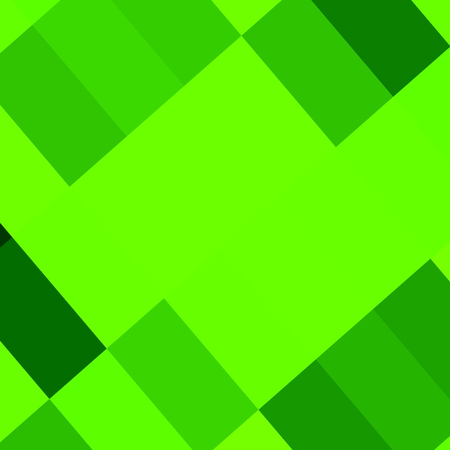 full frame: Abstract green picture frame. Pixel art style. Low polygon style. Image made in full frame. Bright green color. Tile mosaic render. Vibrant green colours. Polygonal colored pic. Header or cover design. Illustration in green color tone. Elements.