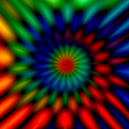 full frame: Blurry colorful swirl. Odd artsy graphic. Cool weird shapes. Vivid twist decor. Modern digital art. Made in full frame. Soft chromatic blur. Generative art image. Colour vortex imagery. Rgb color illustration. Modern style rendering. Ornamental shape.