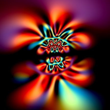 distort: Abstract psychedelic aberrations background. Magic cyber glow. Neon light effect. Weird dynamic pic. Modern digital art. Strange shape decor. Trippy virtual arts. Unusual blur render. Stylized colour burst. Many different colors. Uncommon artsy splash.