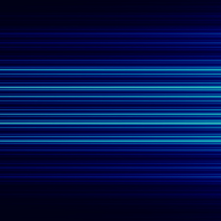 Abstract background design with blue horizontal lines. Full frame empty space. Visual ray or beam. Cool pic with stream of rays. Striped motion effect. Stylish decor for company front page. Structure made of black and dark blue colours. For blank cover.