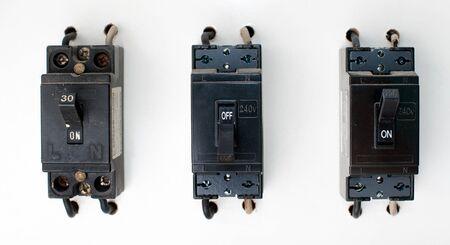 Breaker switch. photo