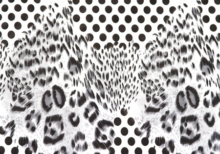 leopard tiger skin texture background photo