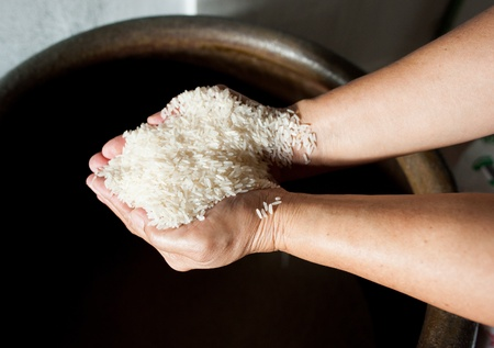thai jasmine rice on hand