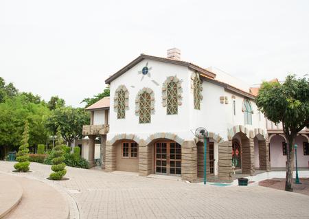 Single family bright house Stock Photo - 22744952