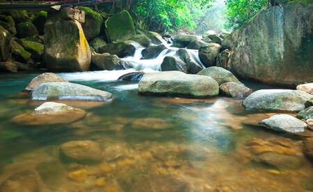 waterfall in national park Chanthaburi , thailand photo